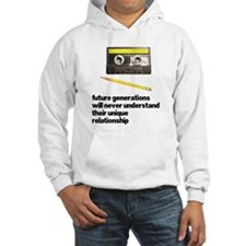 Cassette Tape Pencil Relation Hoodie