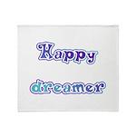 Happy Dreamer Throw Blanket