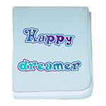 Happy Dreamer baby blanket
