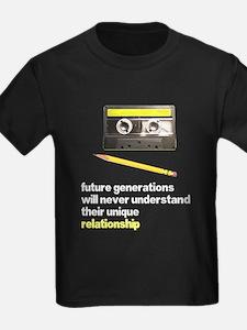 Cassette Tape Pencil Relation T