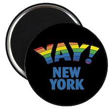 YAY! NEW YORK Magnet