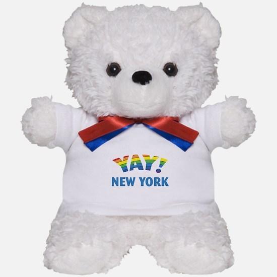 YAY! NEW YORK Teddy Bear