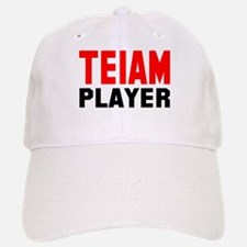 There is No I In Teiam! I in Baseball Baseball Cap