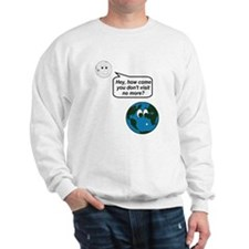 Moon Earth Visit Anymore Shir Jumper