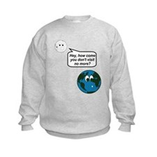 Moon Earth Visit Anymore Shir Sweatshirt