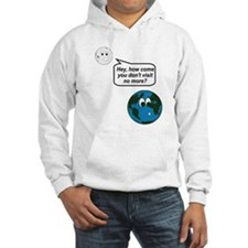 Moon Earth Visit Anymore Shir Jumper Hoody