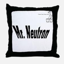 Mr. Neutron Throw Pillow