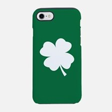 St Patricks Day Shamrock iPhone 7 Tough Case
