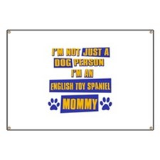 English Toy Spaniel Mommy Banner