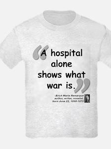 Remarque War Quote T-Shirt