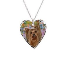 Garden / Yorkie #7 Necklace