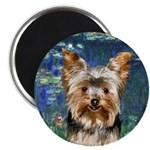 Lilies5 - Yorkie #17 Magnet