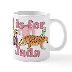 J is for Jada Mug