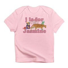 J is for Jasmine Infant T-Shirt