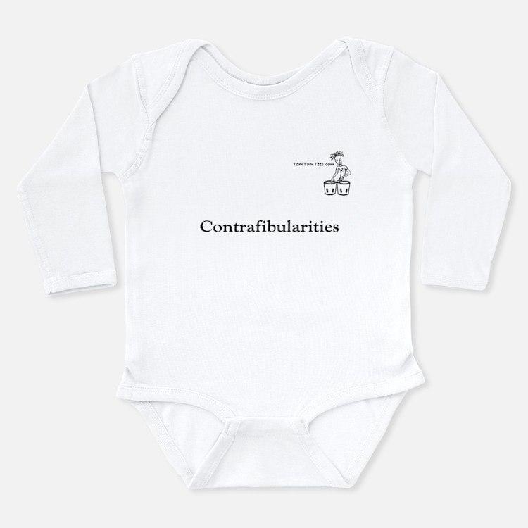 Contrafibularities Long Sleeve Infant Bodysuit
