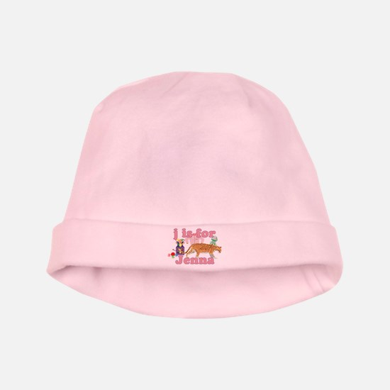 J is for Jenna baby hat