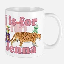 J is for Jenna Mug