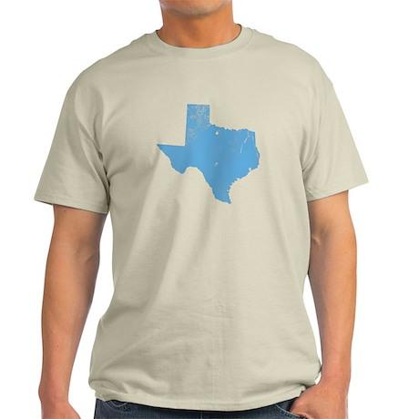 Vintage Grunge Baby Blue Blue Light T-Shirt