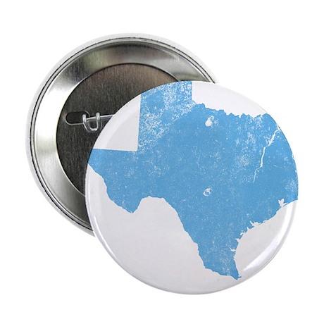"""Vintage Grunge Baby Blue Blue 2.25"""" Button"""