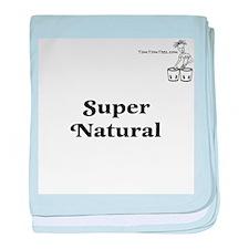 Super Natural baby blanket