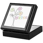 Butterfly Flower Vase Bridal Ring Box