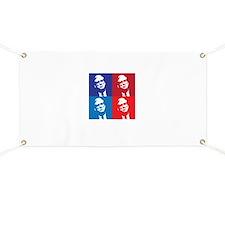 Vintage Grunge Baby Blue Blue License Plate Frame