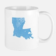 Vintage Grunge Baby Blue Blue Mug