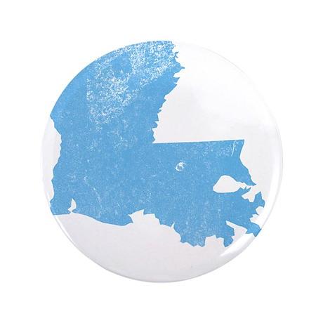 """Vintage Grunge Baby Blue Blue 3.5"""" Button (100 pac"""