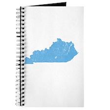 Vintage Grunge Baby Blue Blue Journal