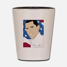 Barack Obama 2011 Shot Glass