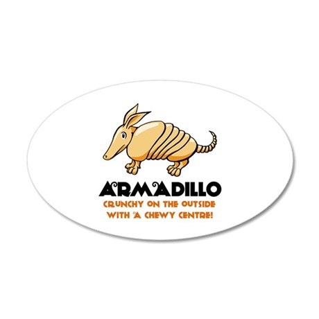 Armadillo 22x14 Oval Wall Peel