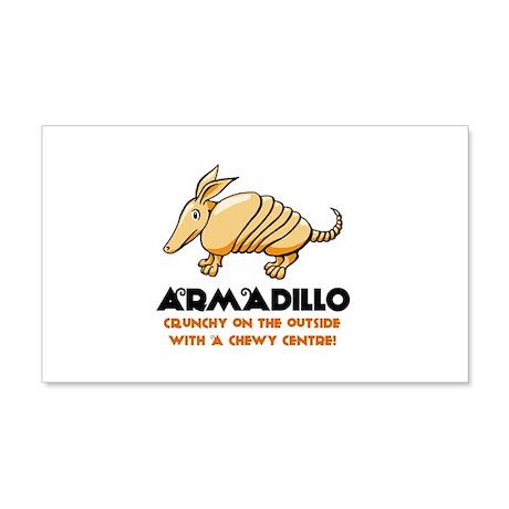 Armadillo 22x14 Wall Peel