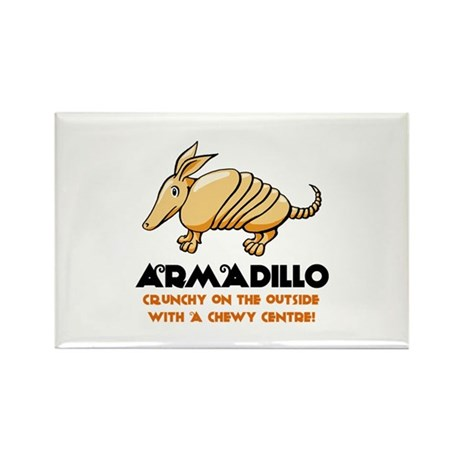Armadillo Rectangle Magnet (100 pack)