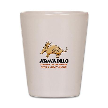 Armadillo Shot Glass