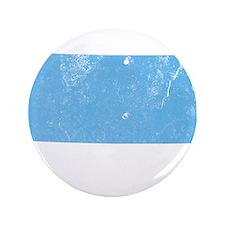 """Vintage Grunge Baby Blue Blue 3.5"""" Button"""