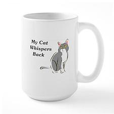 My Cat Whispers Back Mug