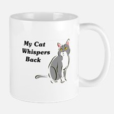 My Cat Whispers Back Mug
