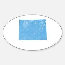 Vintage Grunge Baby Blue Blue Decal