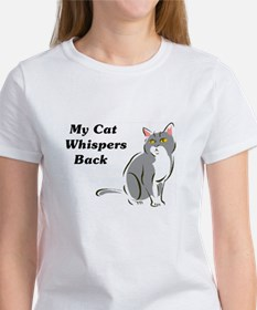 My Cat Whispers Back Tee
