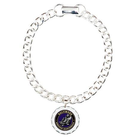 Armchair Quarterback - BAL Charm Bracelet, One Cha