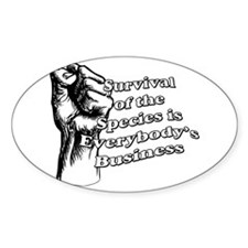 Survival of the Species Decal