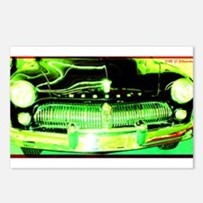Mercury, Retro, Car, Postcards (Package of 8)