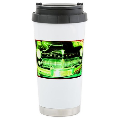 Mercury, Retro, Car, Stainless Steel Travel Mug
