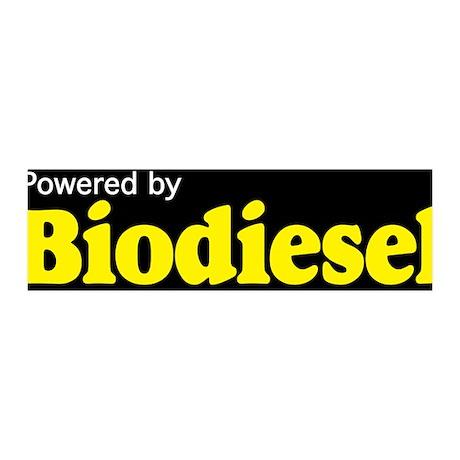 Powered by Biodiesel 42x14 Wall Peel