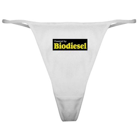 Powered by Biodiesel Classic Thong