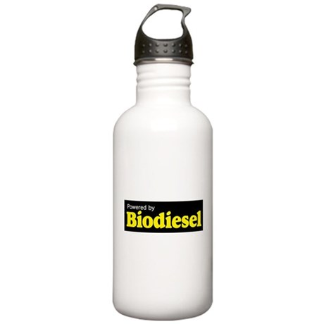 Powered by Biodiesel Stainless Water Bottle 1.0L