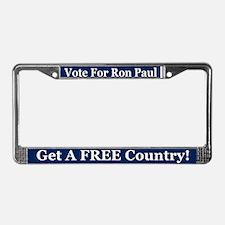 election 2012 License Plate Frame