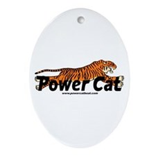 Cute Power boats Ornament (Oval)