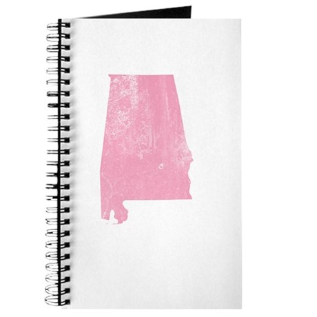 Vintage Grunge Pink Alabama Journal