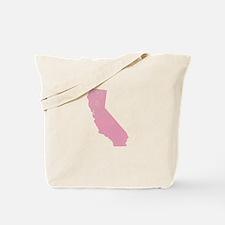 Vintage Grunge Pink California Tote Bag